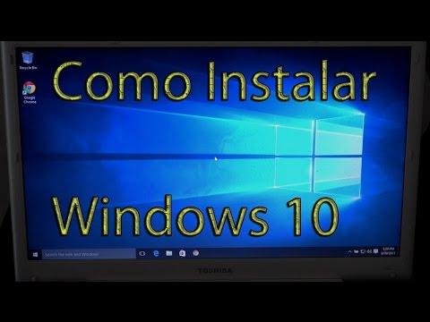 Como Instalar Windows 10 Gratis Sin Perder Nada