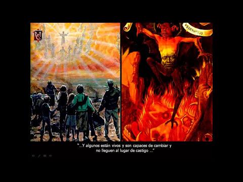 EL INFIERNO REAL (6 DE 8) VISTO POR OLIVA CON JESUS - Padre CARLOS CANCELADO, VOCES DE DEMONIOS