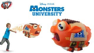 Monsters University Archie Squealing Mascot Toy Review, Spin Master