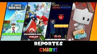 Mario Kart Tour, Suzy cube, Super mario U, Xeno maker!! REPORTES CHURY juegos android