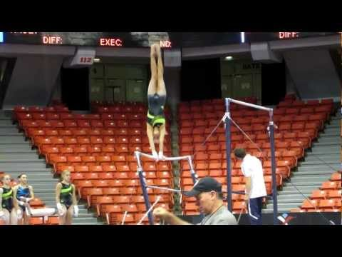 Nastia Liukin - Uneven Bars - 2012 Secret U.S. Classic Podium Training