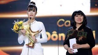 Đông Nhi xúc động khi lần đầu nhận Giải Âm Nhạc Cống Hiến sau 11 năm ca hát