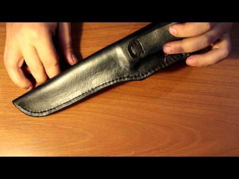 рукоять ножа из кожи как делать комплектующие