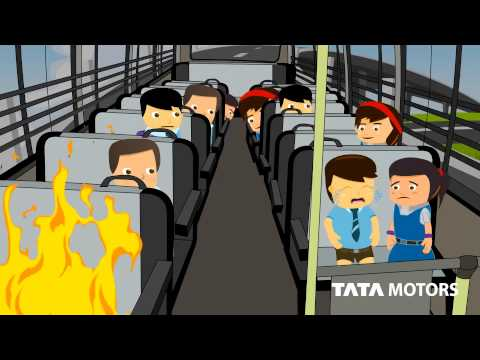 TATA MOTORS  SCHOOL BUS SAFETY TIPS