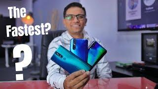 OPPO F11 Pro Vs VIVO V15 Pro Vs Samsung Galaxy A50 Charging Test - Guess the Winner!