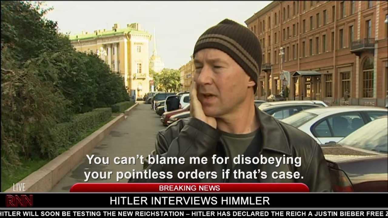Hitler interviews Himmler