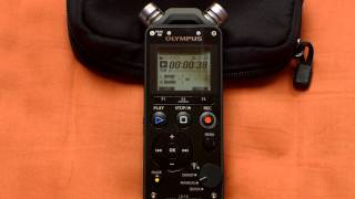 digital recorder comparison #1: Olympus LS11 vs LS14 vs TASCAM DR40 - open air concert
