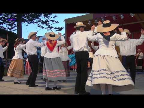 Grupo Folcl�rico do Sal�o na Semana do Mar 2013 - Faial, A�ores