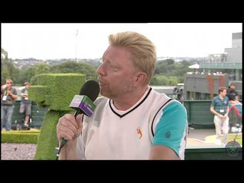 Boris Becker Live @ Wimbledon interview