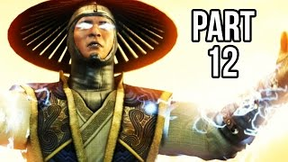 Mortal Kombat X Walkthrough Gameplay Part 12 - Raiden - Story Chapter 10 (60FPS 1080p)
