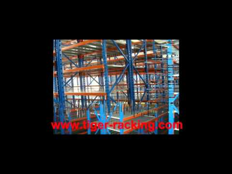 RS Automatic Storage Retrieval System and Save Space VNA Pallet Racking