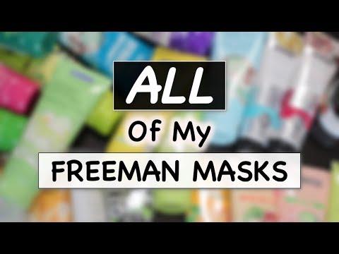 FREEMAN MASKS COLLECTION REVIEW | Masker Freeman | Skincare Routine | suhaysalim