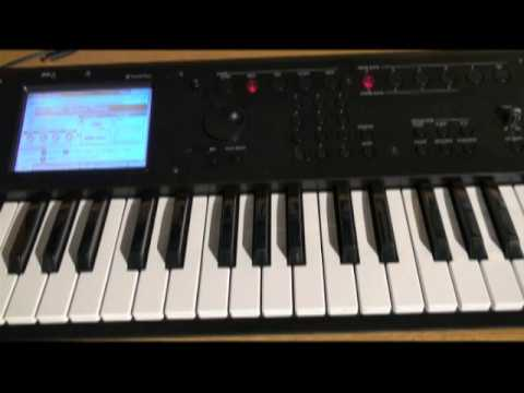 Korg M50 - Organizing Favorite Sounds - In The Studio With Korg