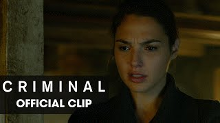 """Criminal (2016 Movie) Official Clip – """"In My Head"""""""