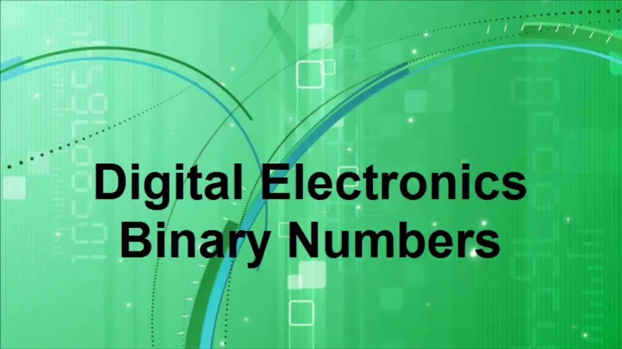Subtraction in binary number system