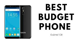 Best budget phone Oukitel C8 and best infinity display phone
