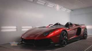 Making of the Lamborghini Aventador J