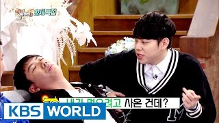Zico has been hit by his brother because of chicken? [Happy Together / 2017.01.12]