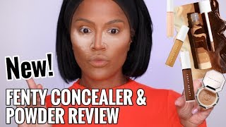 LETS KEEP IT 100! Fenty Beauty Concealer & Setting Powder Review