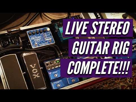 Kelly Richey Stereo Live Guitar Rig Complete
