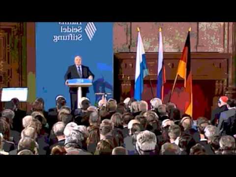 Michail Gorbatschow Rede | Welt vor dem 3. Weltkrieg? (München 10.12.2011)