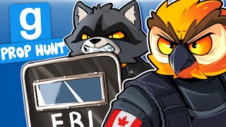 Gmod Ep. 103 - SWAT TEAM VANOSS AND BATCOON! (Prop Hunt Funny Moments)