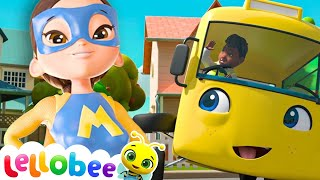 Educational Videos for Toddlers | Super Mom | Nursery Rhymes | Baby Songs | Little Baby Bum
