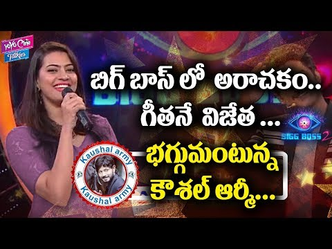 Shocking news, Geetha Madhuri Title Winner ! | Bigg Boss 2 Telugu | Nani | YOYO Cine Talkies