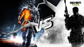 Battlefield 3 vs Modern Warfare 3 Gun Sounds
