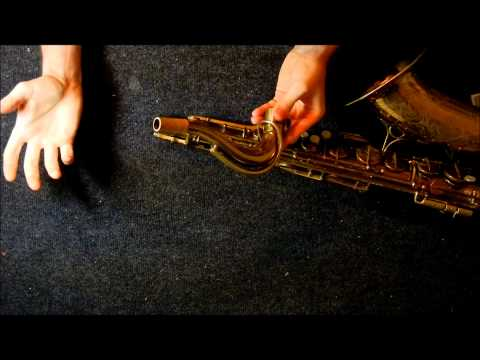 "Repairman's Overview: Martin ""The Martin""/Committee III tenor saxophone"