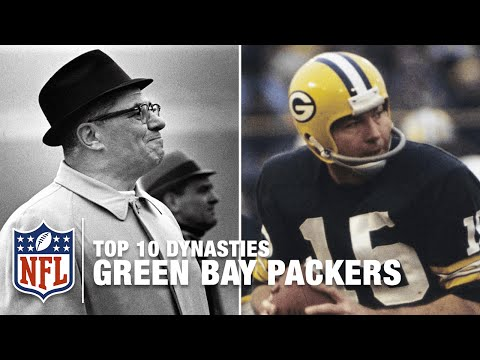 Nfl 10 Dynasties 60s Green Bay Packers