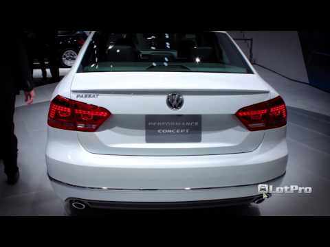 VW Passat Concept Preview - 2013 Detroit Auto Show