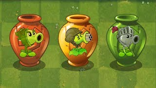 Plants vs Zombies 2 - Team Plants Power-Up! - Vasebreaker Endless - Wave: 105-106
