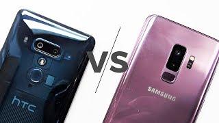 HTC U12+ versus Samsung Galaxy S9+ camera shootout