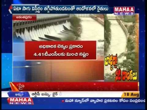 Tungabhadra River Water Theft By Karnataka Farmers -Mahaanews