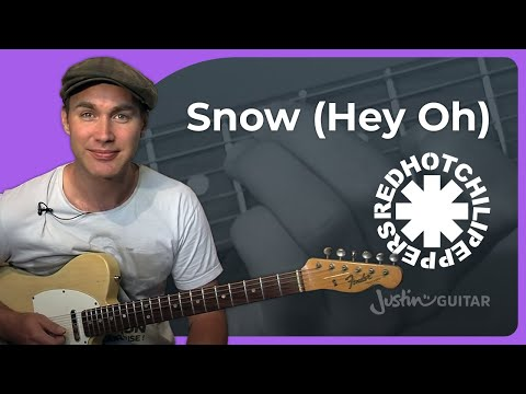 Snow (Hey Oh) - Red Hot Chili Peppers (Songs Guitar Lesson RF-020) How To Play