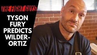 Tyson Fury Talks Deontay Wilder vs  Luis Ortiz, Otto Wallin, and Depression