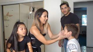Txunamy Gets Her Belly Pierced Prank On Dad Familia Diamond