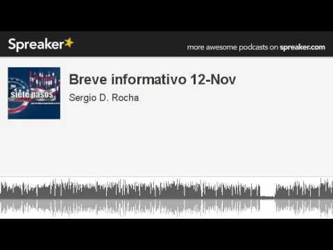 Breve informativo 12-Nov 2014