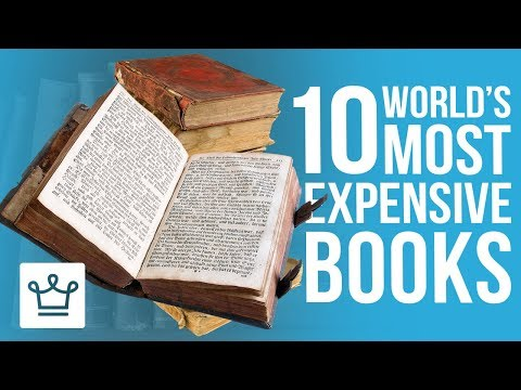 Top 10 Most Expensive Books In The World