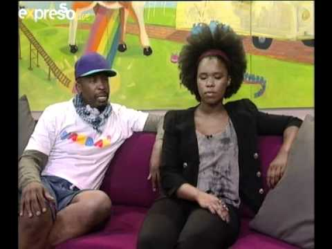 Zahara And Dj Sbu Interview On Expresso (18.04.2012) video