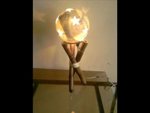 lamparas estrella, luna y sol artesanales 2