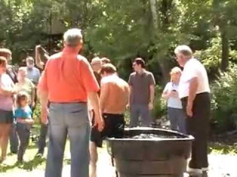 Baptismal Service Sun 8-12-2012 ~ 4 PM, by Pastor Ernie Sanders & Pastor Bruce .flv
