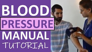 How to Take a Blood Pressure Manually