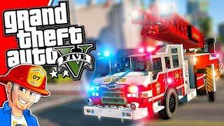 GTA 5 Rockford Hills Fire Station   GTA 5 Emergency Services MOD