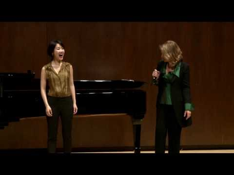 2014 Renée Fleming Master Class: Hyesang Park and Bretton Brown