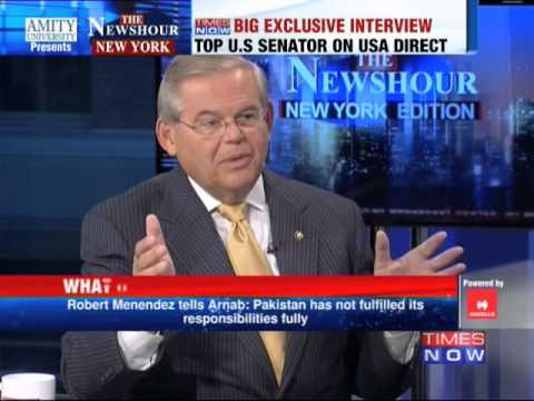 The Newshour Direct from New York: Senator Robert Menendez (26th September 2014)
