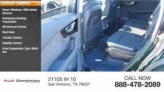 2019 Audi Q7 San Antonio TX 0D018458