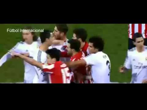 Cristiano Ronaldo Red Card vs Athletic Bilbao ~ Real Madrid 1-1 2-2-2014 3D