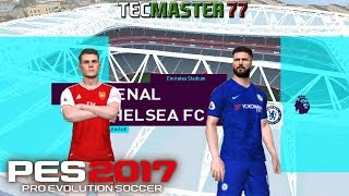 Arsenal vs Chelsea - One Two Patch 3.1 PES 2017